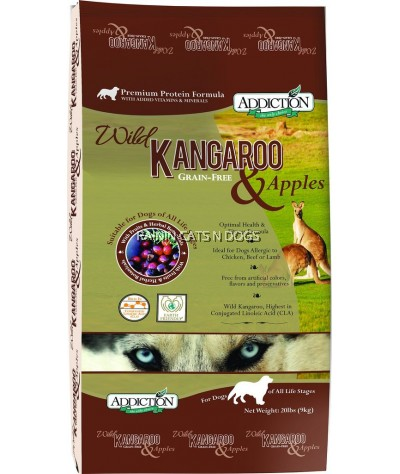 ADDICTION KANGAROO & APPLE GF DOG 20LBS
