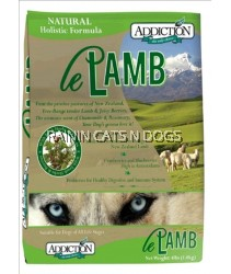 ADDICTION LE LAMB GF DRY DOG FD 20LBS