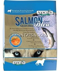 ADDICTION SALMON BLEU GF DOG FD (4LBS)