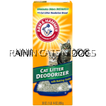 A&H CAT LITTER DEODORIZER POWDER (20oz)
