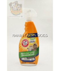 ARM & HAMMER CAT LITTER DEODORIZER SPRAY (636ML)