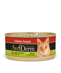 AVODERM NAT CAT CHICKEN CAN 5.5OZ