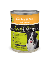 AVODERM NAT CHICK&RICE DOG CAN 13.2OZ