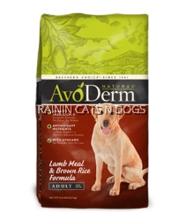 AVODERM NAT LAMB&RICE ADULT DOG (26LB)