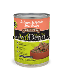 AVODERM N. SALMON&WILD RICE CAN 12.5OZ