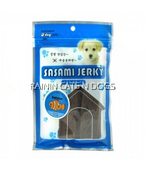 D'DOG SALMON JERKY 100G