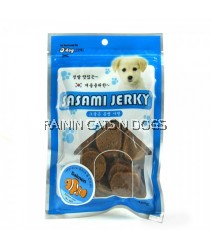 D'DOG SALMON CIRCULAR CHIP 100G