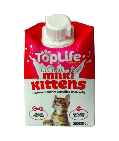 TOP LIFE KITTEN MILK 200ML