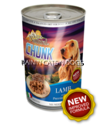 ALPS DOG CHUNKS LAMB CAN 415G