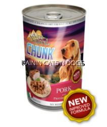 ALPS DOG CHUNKS PORK CAN 415G