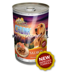 ALPS DOG CHUNKS SALMON CAN 1230G