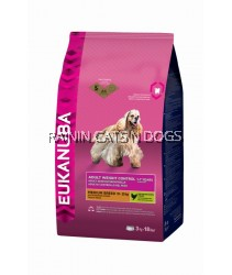 EUKANUBA ADULT LIGHT (WEIGHT CONTROL) 15KG