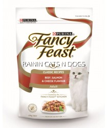 FANCY FEAST DRY BEEF SALMON & CHEESE 450G