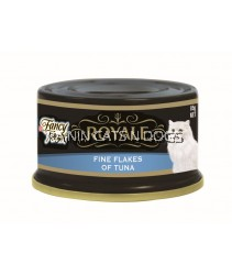FANCY FEAST FINE FLAKES OF TUNA CAN 85G