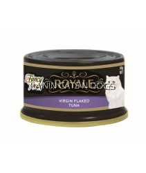 FANCY FEAST VIRGIN FLAKED TUNA CAN 85G