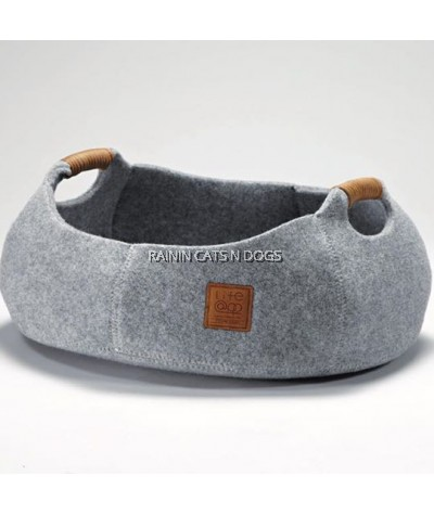LIFEAPP BASKET BOWL (LIGHT GREY)