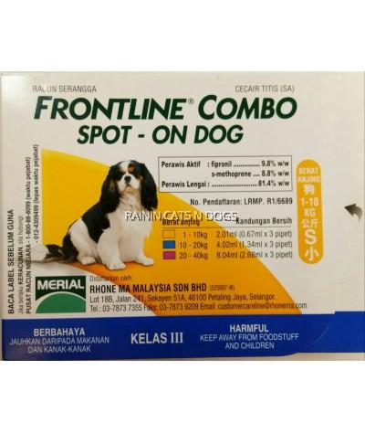 FRONTLINE COMBO SPOT ON DOG (S)