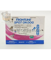 FRONTLINE SPOT ON DOG - MEDIUM (10-20KG) (3x PIPETTES)