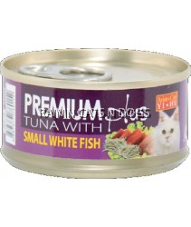 ARISTOCAT PREMIUM TUNA W/SMALL WHITEFISH 80G