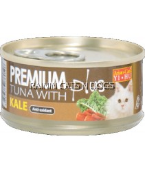 ARISTOCAT PREMIUM TUNA W/KALE CAN 80G
