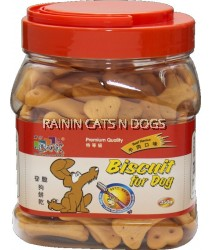 BARK DOG BEEF BISCUITS 350G