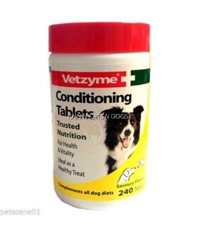 VETZYME COND. 240TABS