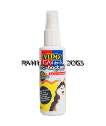 FIDO ANTI-BACTERIA PUMP DOG SPRY 100ML