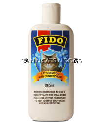 FIDO CAT SHAMPOO WITH CONDITIONING 350ML