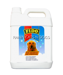 FIDO DOG SHAMPOO WITH CONDITIONING (4 LITRES)