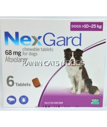 NEXGARD CHEWABLES FOR DOGS (10-25KG) L