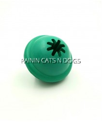RUBBER TREAT BALL TOY (7.9CM)
