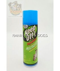 FOUR PAWS KEEP OFF INDOOR & OUTDOOR REPELLENT AEROSOL SPRAY FOR DOGS & CATS (284G)