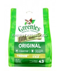GREENIES TEENIE DENTAL TREATS 340g (43PCS)