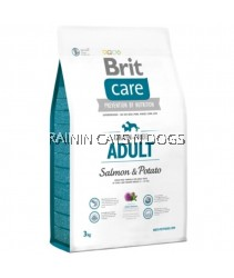 BRIT CARE ADULT SALMON & POTATO 3KG