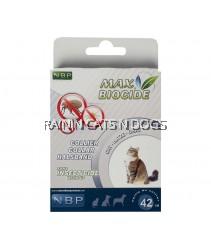 MAX BIOCIDE CAT FLEA & TICK COLLAR (42CM)