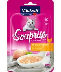 VITAKRAFT CAT SOUPRISE WITH CHICKEN (80G)