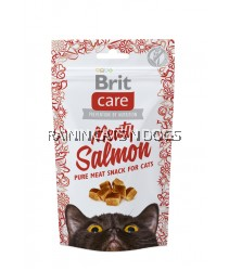 BRIT CARE CAT SNACK MEATY SALMON (50G)