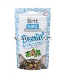 BRIT CARE CAT SNACK DENTAL (50G)