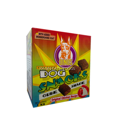 Dinos Cube Shape Snacks Original Chicken (1kg)
