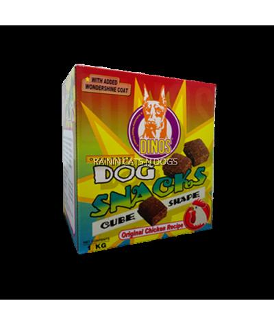 Dinos Cube Shape Snacks Original Chicken (1kg)