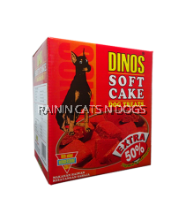 Dinos Soft Cake Dog Treats Calcium Enriched (750g)