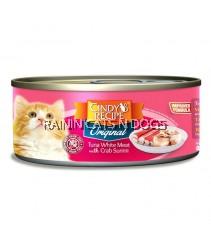 24X Cindy's Recipe Original Tuna White Meat with Crab Surimi (80g)