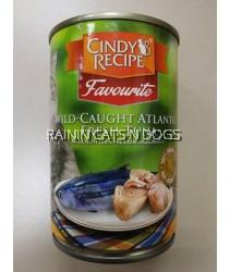 24X Cindy's Recipe Wild Caught Atlantic Fresh Tuna (400g)