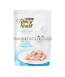 12X FANCY FEAST INSPIRATIONS Tuna, Courgette & Wholegrain Rice Wet Cat Food (70g)