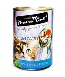 24x FUSSIE CAT FRESH SEAFOOD PLATTER 400G