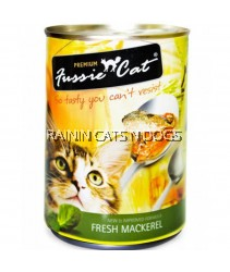 24X FUSSIE CAT CAN FRESH MACKEREL 400G