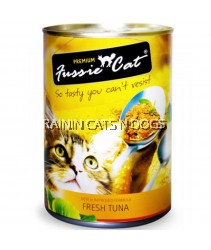 24X FUSSIE CAT CAN FRESH TUNA 400G