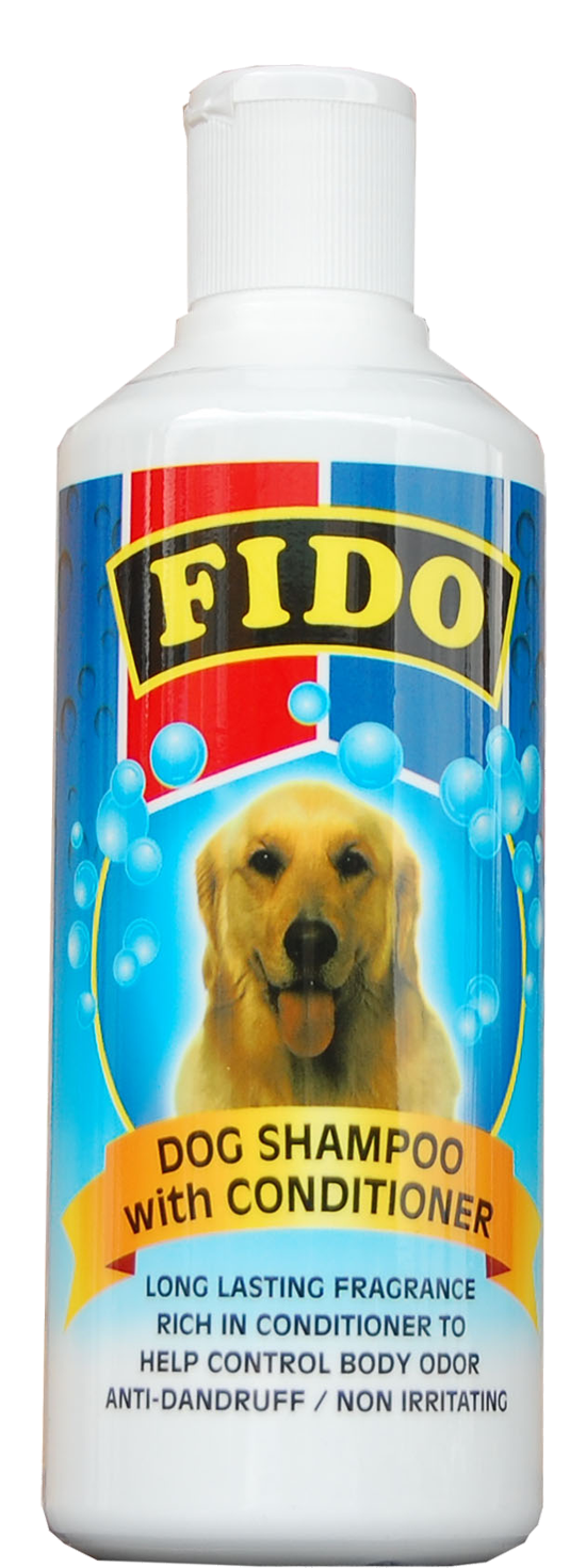 fido dog shampoo with conditioning 500ml. Black Bedroom Furniture Sets. Home Design Ideas